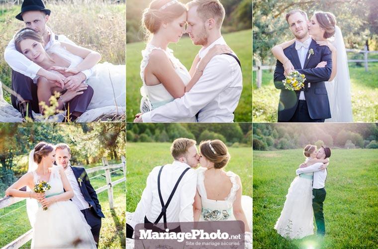 Photos de mariage privées et vidéos de mariage : tout reste privé, seulement visible par vos invités et les personnes que vous avez autorisées