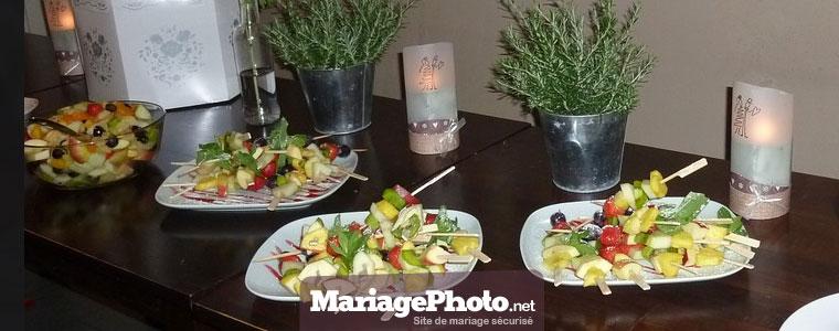 Traiteur pour son mariage : buffet ou service à table, à vous de choisir quel type de repas de mariage vous souhaiteriez