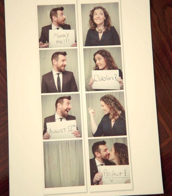 Faire-part de mariage en ligne : une invitation photomaton très simple à créer
